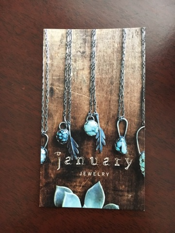 january jewelry